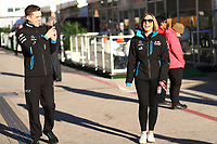 1st November 2019; Circuit of the Americas, Austin, Texas, United States of America; Formula 1 United Sates Grand Prix, practice day; Claire Williams, Deputy Team Principal of ROKiT Williams Racing - Editorial Use