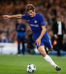 Chelsea's Marcos Alonso in action during the champions league match at Stamford Bridge Stadium, London. Picture date 12th September 2017. Picture credit should read: David Klein/Sportimage