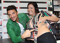 OCT 21 Peter Andre new fragrance signing