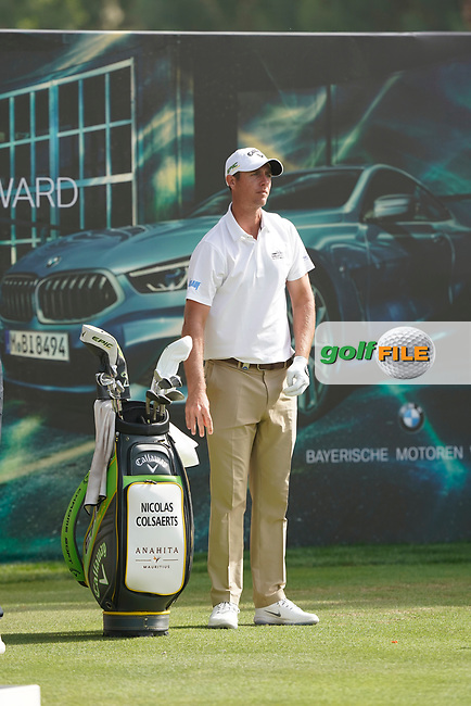 Nicolas Colsaerts (BEL) during the third round of the Omega Dubai Desert Classic, Emirates Golf Club, Dubai, UAE. 26/01/2019<br /> Picture: Golffile | Phil Inglis<br /> <br /> <br /> All photo usage must carry mandatory copyright credit (&copy; Golffile | Phil Inglis)