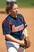SAN ANTONIO, TX - MARCH 9, 2006: The Texas A&M University Corpus Christi Islanders vs. The University of Texas at San Antonio Roadrunners Softball at Roadrunner Field. (Photo by Jeff Huehn)