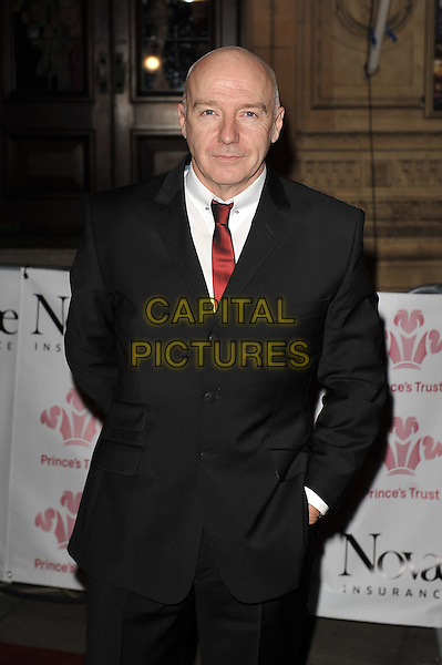 Midge Ure.'Prince's Trust Rock Gala', Royal Albert Hall, Kensington, London, England. .23rd November 2011.half length black  suit white shirt tie red .CAP/MAR.© Martin Harris/Capital Pictures.