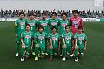 NTV Beleza team group line-up, MARCH 27, 2016 - Football /Soccer : Plenus Nadeshiko League 2016 between Urawa Reds Ladies 1-1 NTV Beleza at Nishigaoka Stadium in Tokyo, Japan. (Photo by Sho Tamura/AFLO SPORT)