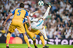 Sergio Ramos (r) of Real Madrid in action during the UEFA Champions League 2017-18 match between Real Madrid and APOEL FC at Estadio Santiago Bernabeu on 13 September 2017 in Madrid, Spain. Photo by Diego Gonzalez / Power Sport Images