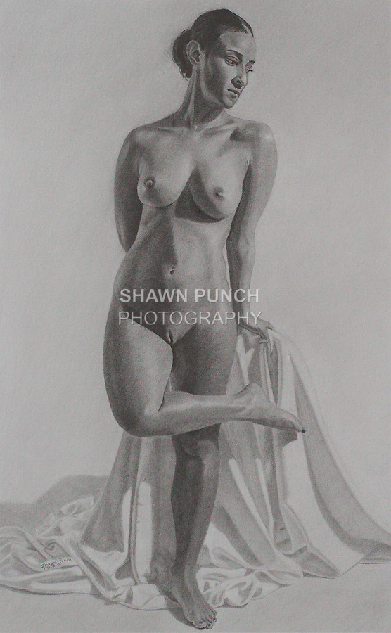 Cassandra - 2015 Graphite on paper