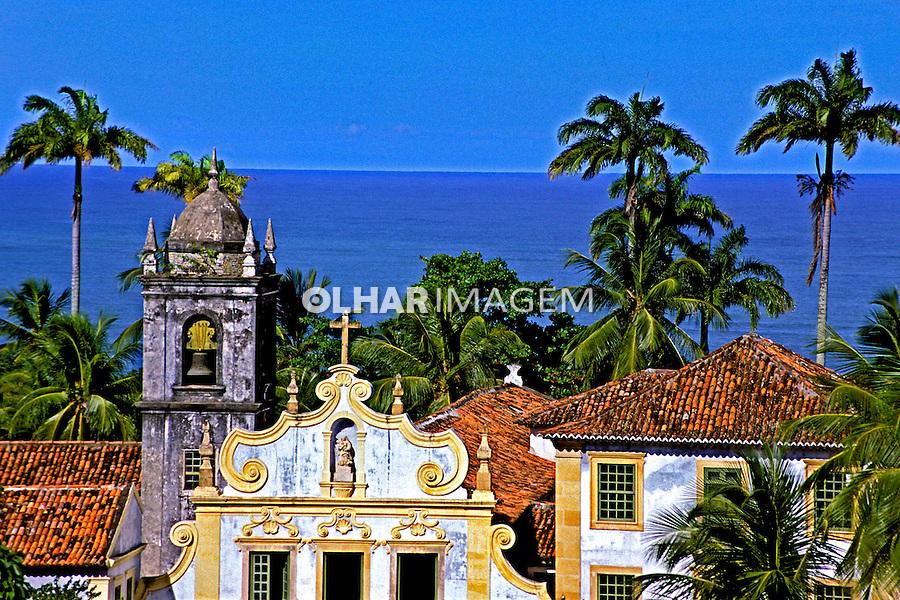 igreja colonial na cidade de Olinda, Pernambuco. 2001. Foto de Juca Martins.