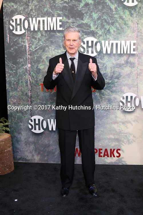"""LOS ANGELES - MAY 19:  Don Murray at the """"Twin Peaks"""" Premiere Screening at The Theater at Ace Hotel on May 19, 2017 in Los Angeles, CA"""