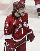 Margaret Chute (Harvard - 7) - The Boston College Eagles defeated the visiting Harvard University Crimson 3-1 in their NCAA quarterfinal matchup on Saturday, March 16, 2013, at Kelley Rink in Conte Forum in Chestnut Hill, Massachusetts.