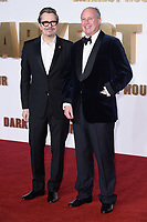 "Gary Oldman and Randolph Spencer Churchill (Churchill's grandson)<br /> arriving for the ""Darkest Hour"" premiere at the Odeon Leicester Square, London<br /> <br /> <br /> ©Ash Knotek  D3361  11/12/2017"
