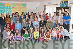 BEALTAINE 2011: The residents, family and staff of Cu?il Di?din nursing home, Tralee taking part in art classes for children by the award winning resident Art Group as part of Bealtaine 2011 on Saturday.