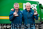 Tralee postmen Martin O'Regan and Tommy O'Leary who retired this week.