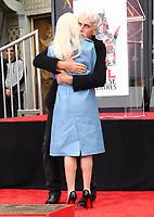 07 January 2019 - Hollywood, California - Lady Gaga, Sam Elliott . Sam Elliott Hand And Footprint Ceremony held at TCL Chinese Theatre. <br /> CAP/ADM/BT<br /> &copy;BT/ADM/Capital Pictures