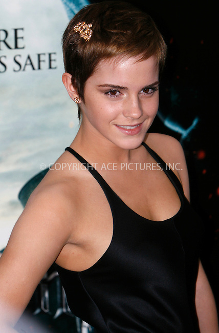 WWW.ACEPIXS.COM . . . . .  ....November 11 2010, New York City....Emma Watson at the premiere of 'Harry Potter and the Deathly Hallows - Part 1' at Alice Tully Hall on November 15, 2010 in New York City......Please byline: NANCY RIVERA- ACEPIXS.COM.... *** ***..Ace Pictures, Inc:  ..Tel: 646 769 0430..e-mail: info@acepixs.com..web: http://www.acepixs.com