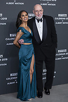 "Misty Copeland, Albert Watson attend the gala night for official presentation of the Presentation of the Pirelli Calendar 2019 ""The cal"" held at the Hangar Bicocca. Milan (Italy) on december 5, 2018. Credit: Action Press/MediaPunch ***FOR USA ONLY***"