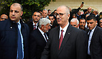 Palestinian prime minister Rami Hamdallah attends Christmas celebrations in Beit Sahour, near the West Bank city of Bethlehem, January 05, 2019. Photo by Prime Minister Office