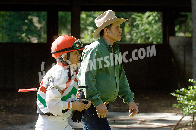 Ron Martino and Santos Chavez at Delaware Park on 6/16/12