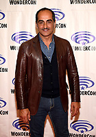 "ANAHEIM, CA - MARCH 29: Navid Negahban, cast member of FX's ""Legion"" attends WonderCon 2019 at the Anaheim Convention Center on March 29, 2019 in Anaheim, California. (Photo by Frank Micelotta/FX/PictureGroup)"