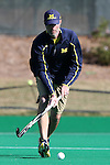 15 November 2015: Michigan assistant coach Ryan Langford. The University of North Carolina Tar Heels played the University of Michigan Wolverines at Francis E. Henry Stadium in Chapel Hill, North Carolina in a 2015 NCAA Division I Field Hockey Tournament Quarterfinal match. UNC won the game 1-0.