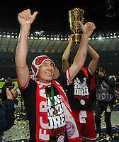 FUSSBALL       DFB POKAL FINALE        SAISON 2012/2013 FC Bayern Muenchen - VfB Stuttgart    01.06.2013 Bayern Muenchen ist Pokalsieger 2013: Arjen Robben (FC Bayern Muenchen)