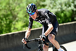Chris Froome (GBR) Team Sky in action during Stage 7 of the Criterium du Dauphine 2017, running 168km from Aoste to Alpe d'Huez, France. 10th June 2017. <br /> Picture: ASO/A.Broadway | Cyclefile<br /> <br /> <br /> All photos usage must carry mandatory copyright credit (&copy; Cyclefile | ASO/A.Broadway)
