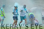 Enjoying the Killarney Colour Run at Killarney Racecourse on Saturday.