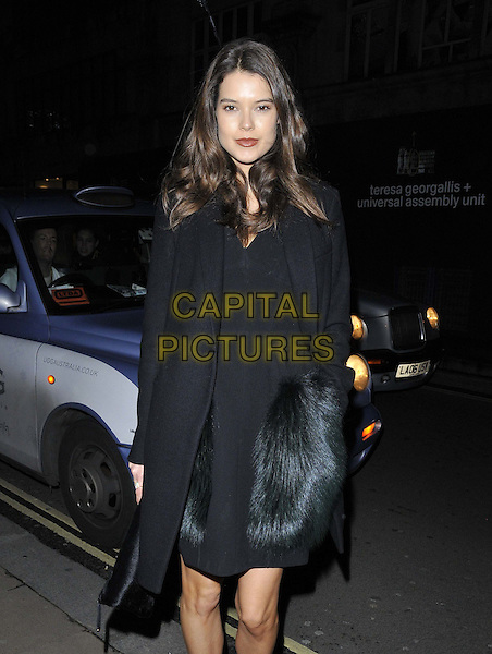 LONDON, ENGLAND - NOVEMBER 27: Sarah Ann Macklin attends the &quot;Mikhail Baryshnikov: Dancing Away&quot; photography collection private view, Contini Art UK, New Bond St., on Thursday November 27, 2014 in London, England, UK. <br /> CAP/CAN<br /> &copy;Can Nguyen/Capital Pictures