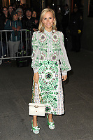 www.acepixs.com<br /> April 19, 2017 New York City<br /> <br /> Tory Burch was seen arriving to the Harper's Bazaar 150th Anniversary celebration at the Rainbow Room on April 19, 2017 in New York City.<br /> <br /> Credit: Kristin Callahan/ACE Pictures<br /> <br /> Tel: (646) 769 0430<br /> e-mail: info@acepixs.com