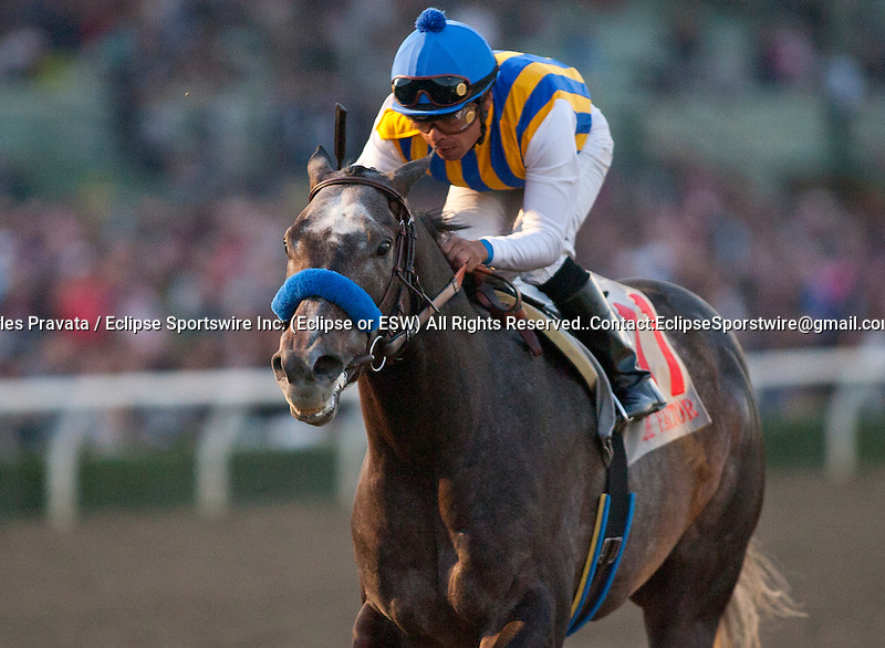 December 26, 2011. The Factor and Martin Garcia win the Malibu Stakes on opening day at Santa Anita Park in Arcadia, CA.