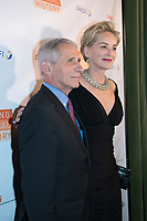 New York City, Bowery Hotel. Dr. Anthony Fauci, an American immunologist who served as director of the National Institute of Allergy and Infectious Diseases and as a member of the White House Corona Virus Task force is addressing the 2019-20 coronavirus (COVID19) pandemic. Sharon Stone presented him with the Visionary Award at the Drugs for Neglected Diseases gala in 2018.