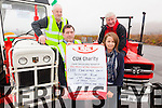 Revving up for CUH Oncology Unit - A tractor Run will take place from St Finians Church Car Park, Waterville on the 29th March at 2pm pictured here l-r; Michael Curran, Michael O'Sullivan, Amanda O'Sullivan & Eugene Dennehy.