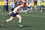 Santa Barbara, CA 02/18/12 - Jessica Dresser (UC Davis #21) in action during the UC Davis - Colorado State game at the 2012 Santa Barbara Shootout.  Colorado State defeated UC Davis 10-9.