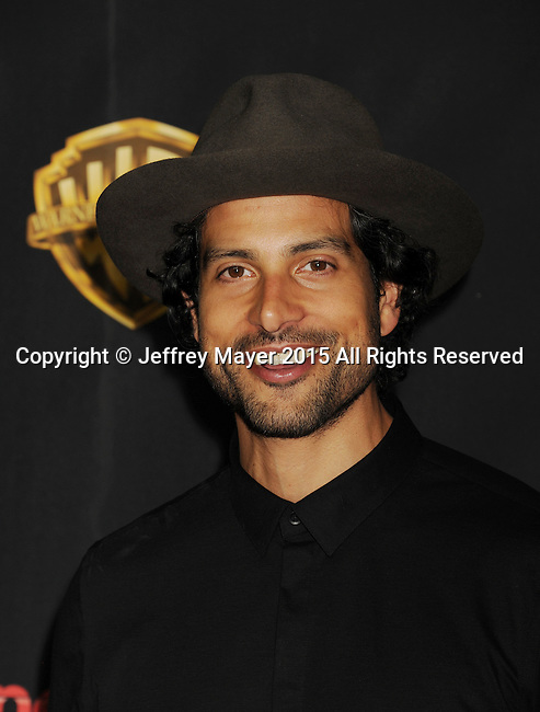LAS VEGAS, CA - APRIL 21: Actor Adam Rodriguez arrives at Warner Bros. Pictures Invites You to ?The Big Picture at The Colosseum at Caesars Palace during CinemaCon, the official convention of the National Association of Theatre Owners, on April 21, 2015 in Las Vegas, Nevada.