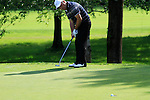 Damien McGrane (IRL) in action on the 6th green during Day 3 of the BMW Italian Open at Royal Park I Roveri, Turin, Italy, 11th June 2011 (Photo Eoin Clarke/Golffile 2011)