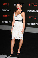 """Shanie Ryan<br /> arriving for the """"Bright"""" European premiere at the BFI South Bank, London<br /> <br /> <br /> ©Ash Knotek  D3364  15/12/2017"""