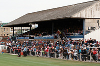 The main stand at Enfield FC Football Ground, Southbury Road, Enfield, London, pictured on 24th July 1996