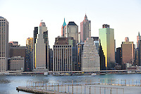 Nov. 12, 2010 - New York City, NY - New York City seen from across the river in Brooklyn November 12, 2010. (Photo by Alan Greth)