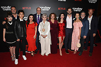 "07 February 2019 - Los Angeles, California - SHERIDAN PIERCE, BRENT MILLER, MARCEL RUIZ, GLORIA CALDERON KELLETT, STEPHEN TOBOLOWSKY, RITA MORENO, JUSTINA MACHADO, ISABELLA GOMEZ, TODD GEINNELL, INDIA DE BEAUFORT, TONY PLANA and MIKE ROYCE. Netflix's ""One Day at a Time"" Season 3 Premiere and Global Launch held at Regal Cinemas L.A. LIVE 14. Photo Credit: Billy Bennight/AdMedia"