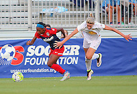 Boyds, MD - Saturday Sept. 03, 2016: Crystal Dunn during a regular season National Women's Soccer League (NWSL) match between the Washington Spirit and the Western New York Flash at Maureen Hendricks Field, Maryland SoccerPlex.