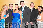 Party: Ringing in the new year at the New years eve ball in the Brandon Hotel on Sunday were Selina Finn, Eoin Colgan, Noelle Creagan, Daniel Bohan John Conway and Emma Enright all from Tralee..