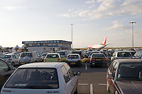 La Rochelle airport car park charente maritime France..©shoutpictures.com..john@shoutpictures.com