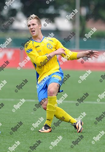 2013-09-22 / Voetbal / seizoen 2013-2014 / Merksem / Mike Seiffermann<br /><br />Foto: Mpics.be