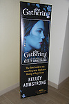 """Author Kelly Armstrong """"The Gathering"""" - poster at Romantic Times Booklovers Annual Convention 2011 - The Book Industry Event of the Year - April 6th to April 10th at the Westin Bonaventure, Los Angeles, California for readers, authors, booksellers, publishers, editors, agents and tomorrow's novelists - the aspiring writers. (Photo by Sue Coflin/Max Photos)"""