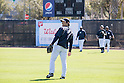 Hideki Matsui (Yankees),<br /> FEBRUARY 20, 2014 - MLB :<br /> New York Yankees' Ichiro Suzuki (2nd R) and guest instructor Hideki Matsui (L) during the New York Yankees spring training camp at George M. Steinbrenner Field in Tampa, Florida, United States. (Photo by Thomas Anderson/AFLO) (JAPANESE NEWSPAPER OUT)