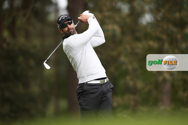 Alvaro Quiros (ESP) during Round Two of the 2015 BMW PGA Championship over the West Course at Wentworth, Virginia Water, London. 22/05/2015Picture David Lloyd, www.golffile.ie.