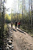 Hautes Gorges Park, Charlevoix, Quebec, Canada