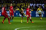 11.03.2018, Signal Iduna Park, Dortmund, GER, 1.FBL, Borussia Dortmund vs Eintracht Frankfurt, <br /> <br /> im Bild | picture shows:<br /> Torschuss durch Mahmoud Dahoud (Borussia Dortmund #19), <br /> <br /> <br /> Foto &copy; nordphoto / Rauch