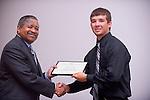 19004Legacy 2008 Recognition & Awards Ceremony in Baker Center 7/31/08: Templeton Scholars, Urban Scholars, and Appalachian Scholars..Appalachian Scholars:..Dr. McDavis & Stephen Neuhart