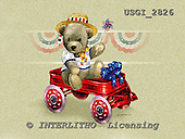 GIORDANO, CUTE ANIMALS, LUSTIGE TIERE, ANIMALITOS DIVERTIDOS, Teddies, paintings+++++,USGI2826,#AC# teddy bears