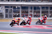 10th September 2017, Misano World Circuit, Misano Adriatico, San Marino; San Marino MotoGP, Sunday Race Day;  MARC MARQUEZ - SPANISH - REPSOL HONDA TEAM - HONDA<br /> DANILO PETRUCCI - ITALIAN - OCTO PRAMAC - DUCATI