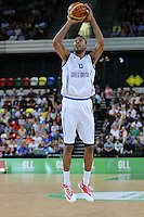 GB's Drew Sullivan during the EuroBasket 2015 2nd Qualifying Round Great Britain v Bosnia & Herzegovina (Euro Basket 2nd Qualifying Round) at Copper Box Arena in London. - 13/08/2014